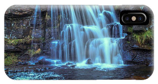 Waterfall iPhone Case - East Gill Force by Smart Aviation