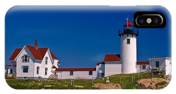 Eastern Point Lighthouse. Gloucester, Ma. IPhone Case