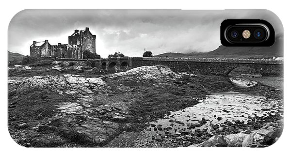 IPhone Case featuring the photograph Eilean Donan Castle In The Highlands Of Scotland by Michalakis Ppalis