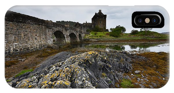 Castle iPhone X Case - Eilean Donan Castle by Smart Aviation