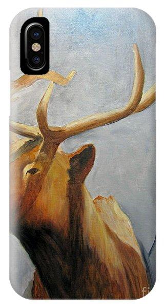 Elk Trophy IPhone Case