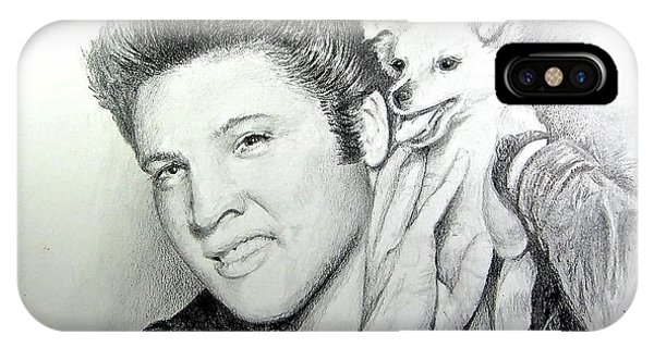 Elvis And Sweet-pea IPhone Case