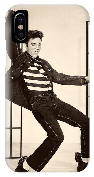 Elvis Presley In Jailhouse Rock 1957 IPhone Case