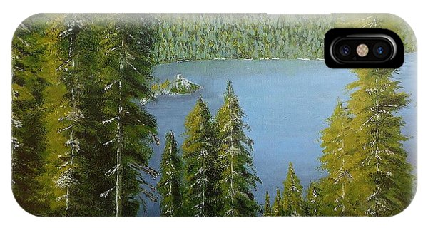Emerald Bay - Lake Tahoe IPhone Case