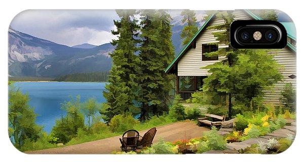 Emerald Lake Yoho National Park IPhone Case