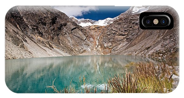 Emerald Green Mountain Lake At 4500m IPhone Case