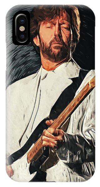 Eric Clapton iPhone Case - Eric Clapton by Zapista Zapista