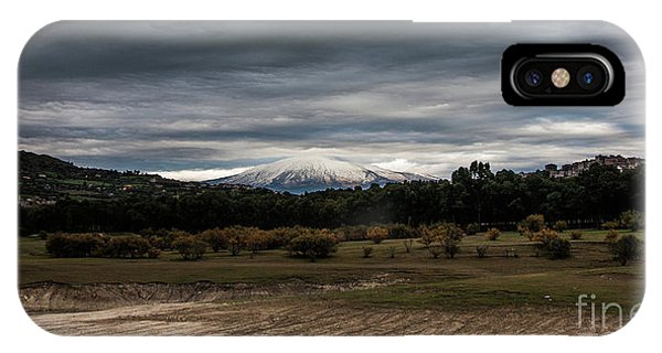 Etna, The West Side IPhone Case