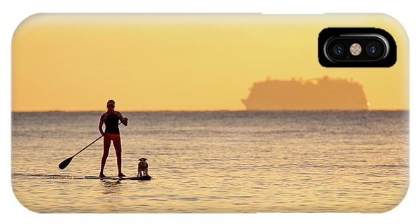 Evening Paddle IPhone Case