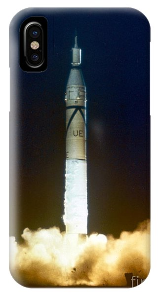Liftoff iPhone Case - Explorer-1 Launch by Nasa