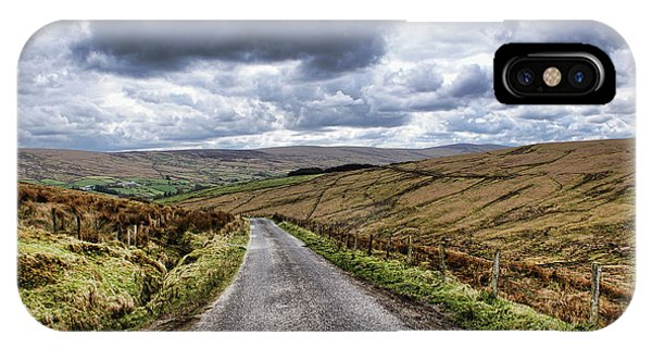 Exploring The Sperrin Mountains IPhone Case