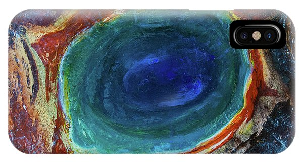 Eye Into The Earth IPhone Case