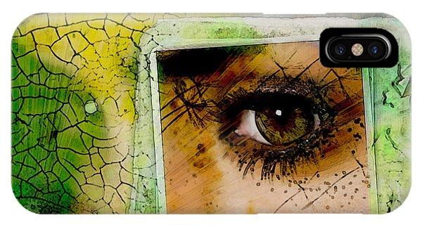 Eye, Me, Mine IPhone Case