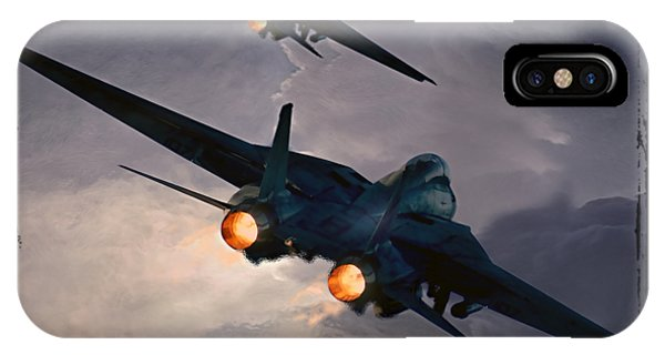 F-14 Flying Iron IPhone Case