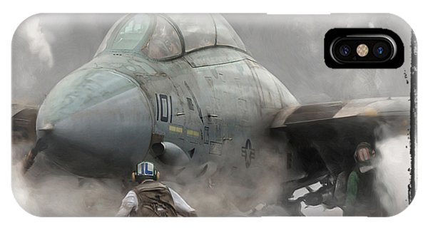 F-14 Smokin' Hot IPhone Case