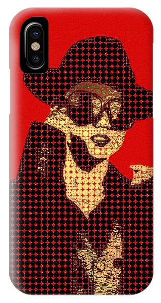 Pop Art iPhone Case - Fading Memories - The Golden Days No.1 by Serge Averbukh