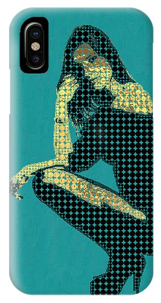 Pop Art iPhone Case - Fading Memories - The Golden Days No.2 by Serge Averbukh