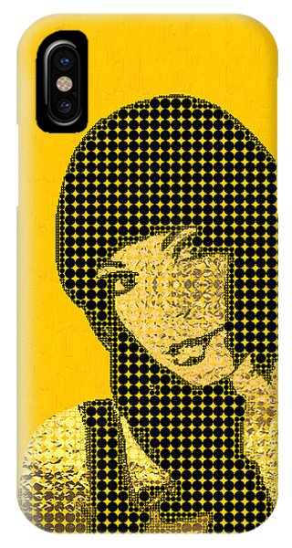 Artwork iPhone Case - Fading Memories - The Golden Days No.3 by Serge Averbukh