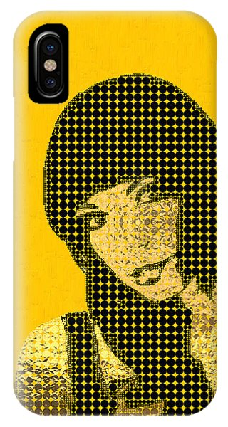 Pop Art iPhone Case - Fading Memories - The Golden Days No.3 by Serge Averbukh