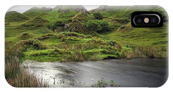 Fairy Glen iPhone Case - Fairy Glen - Isle Of Skye by Joana Kruse