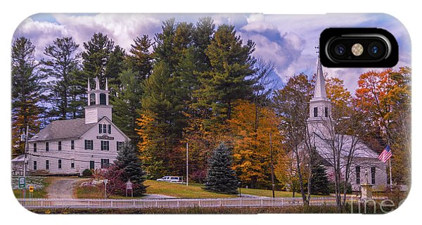 Fall Foliage In Marlow, New Hampshire. IPhone Case