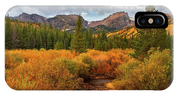 Fall In Rocky Mountain National Park IPhone Case