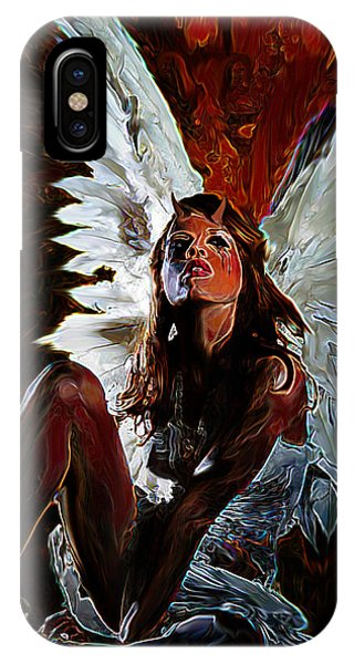 Fallen Angel IPhone Case