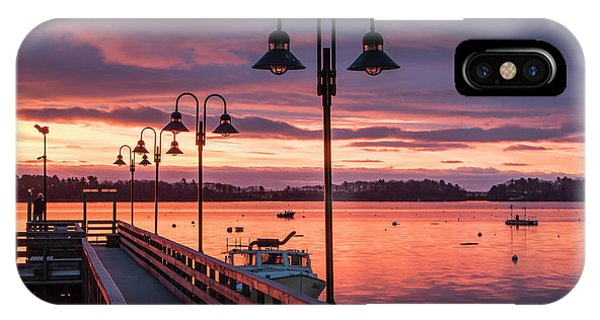 Falmouth Town Landing Sunrise IPhone Case