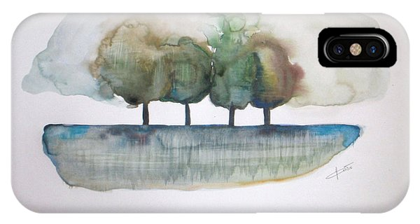 Abstract Modern iPhone Case - Family Trees by Vesna Antic