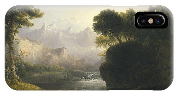 Fanciful Landscape IPhone Case