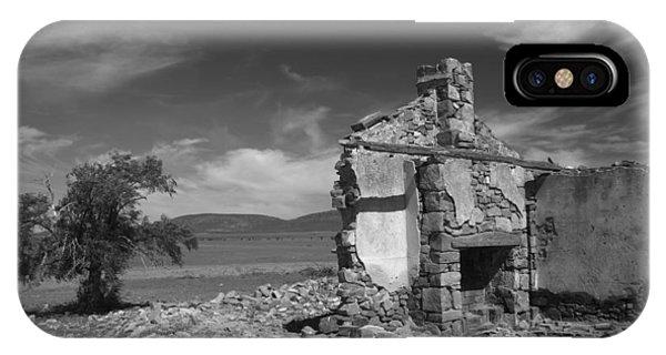 Farmhouse Cottage Ruin Flinders Ranges South Australia IPhone Case