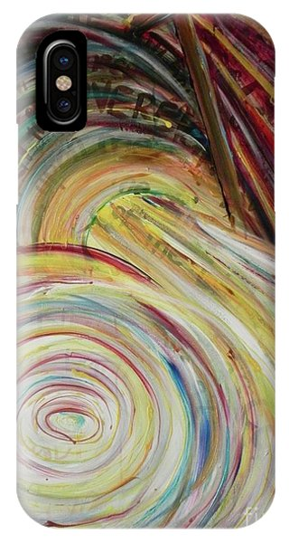 IPhone Case featuring the painting Favor by Lisa DuBois