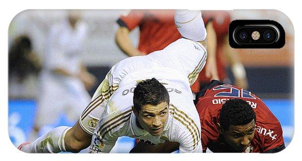 Cristiano Ronaldo iPhone Case - Cristiano Ronaldo 19 by Rafa Rivas