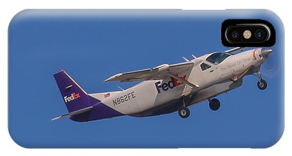 Fedex Airplane IPhone Case