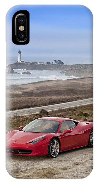 Ferrari 458 Italia IPhone Case