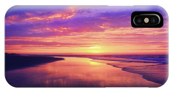 First Light At The Beach IPhone Case