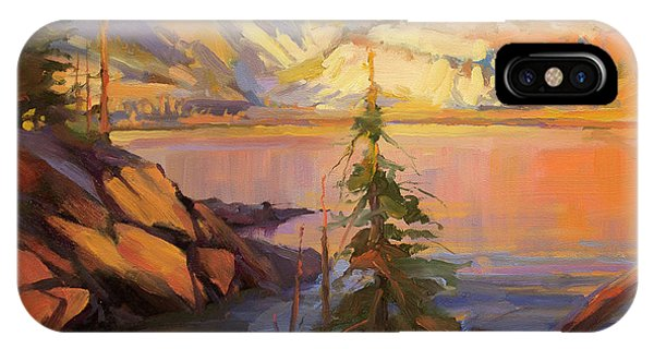 Ice iPhone Case - First Light by Steve Henderson