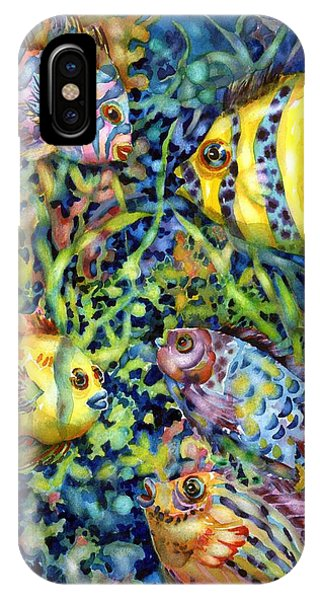 Fish Tales Iv IPhone Case