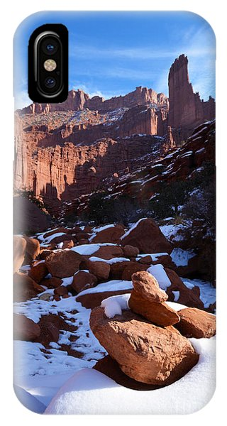 IPhone Case featuring the photograph Fisher Towers by Kate Avery