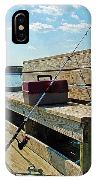 Fishin' Pole IPhone Case