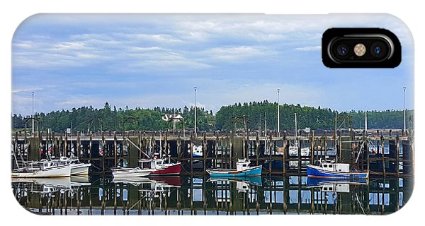 Fishing Boats - Beaver Harbour IPhone Case