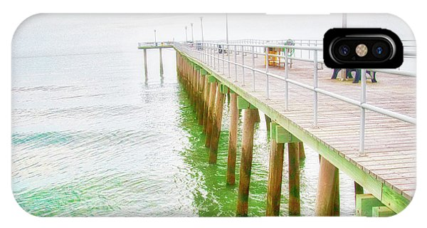 Fishing Pier, Margate, New Jersey IPhone Case