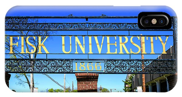 Fisk University Nashville IPhone Case