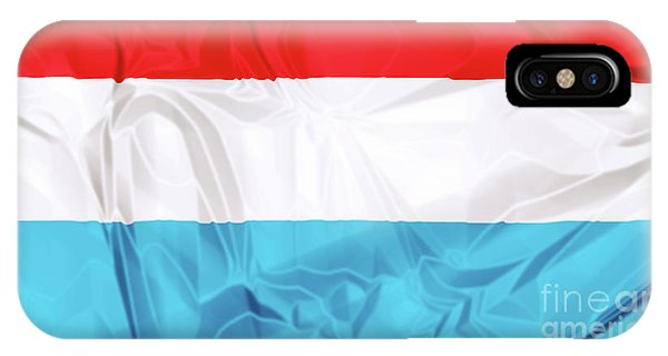 Flag Of Luxembourg IPhone Case