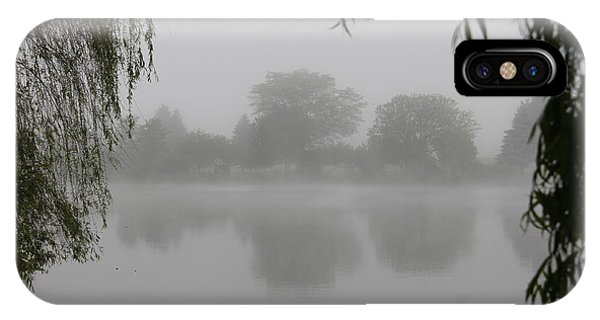 Fog On The Pond IPhone Case