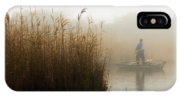 Foggy Fishing IPhone Case