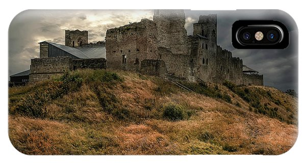 IPhone Case featuring the photograph Forgotten Castle by Jaroslaw Blaminsky
