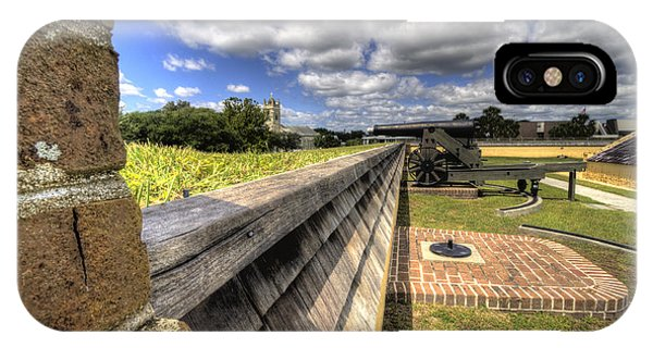 Fort Moultrie Cannon IPhone Case