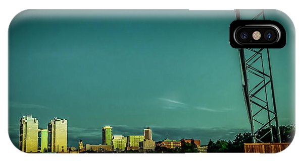 Fortworth Texas Cityscape IPhone Case