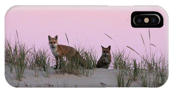 Fox And Vixen IPhone Case